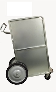 0000672 newspaper carrier cart with casters 300