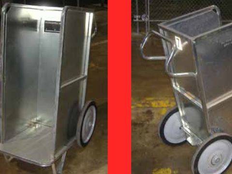 New 2 Wheeled Carrier Carts for Sale