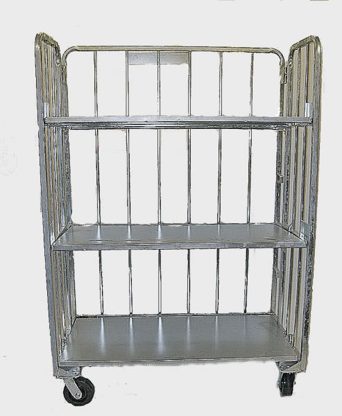 3 Shelf Stocking & Display Cart