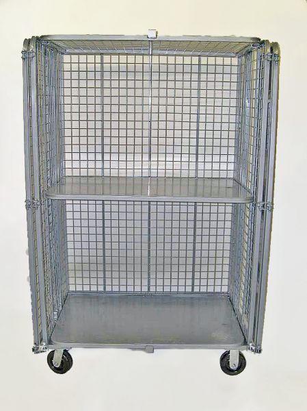 Security Cage Cart